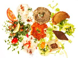 Le Mont Liban restaurant libanais Assiette composée