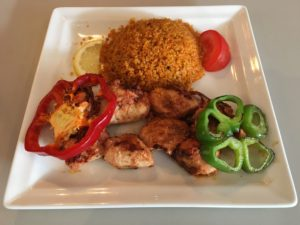 assiette chich taouk